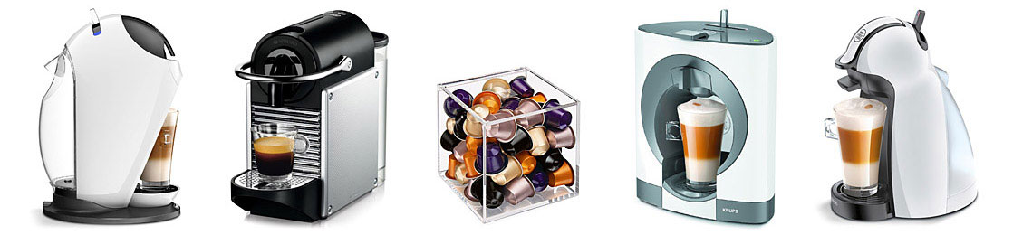 Different Capsule Machines