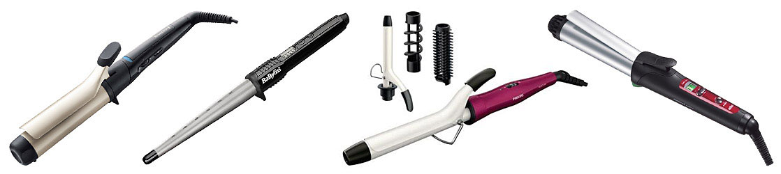 Hair Curling Devices