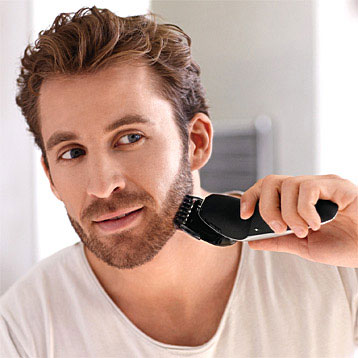 Electric Shaver with Beard Styler