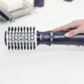 Hot Air Brush With Self-Rotation Motor