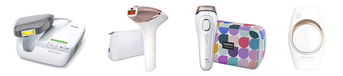 Different IPL Hair Removal Devices
